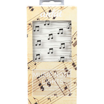 Music Notes String Lights