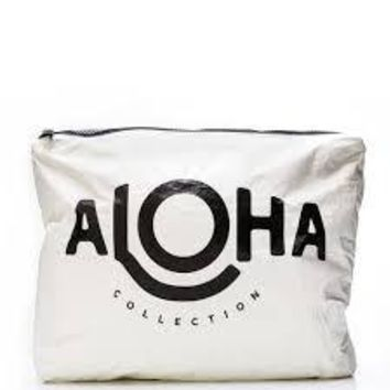 ALOHA Collection - Aloha Max Pouch | White