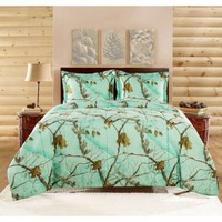 Realtree Brights Bedding Comforter Set - Walmart.com