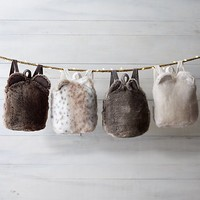 Luxe Faux Fur Backpack