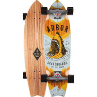Arbor Shark Sizzler Skateboard Multi One Size For Men 23859695701