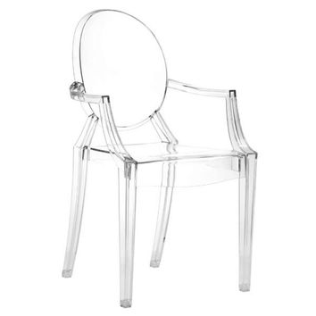Anime Dining Chair Transparent - Set of 4