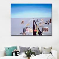Hotsell Wall Art Prints Abstract Painting By Salvador Dali Printed On Canvas Art Print Posters For Living Room Home Decor