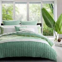 Willow Green Quilt Cover Set by Platinum Collection