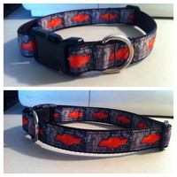 Chevy Camo Inspired Dog Collar