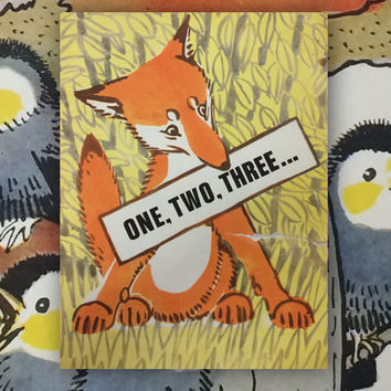 "A. Laptev ""One, Two, Three"", Drawings by The Author. (In English). 8''x10'', Paperback, 10 Pages, 17 Ill. — 1976. Good cond., cover 8/10"