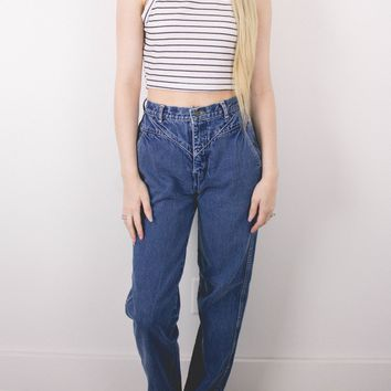 Vintage (SMALL) 70s High Waisted Denim Jeans