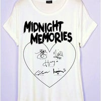 One Direction Midnight Memories T-Shirt