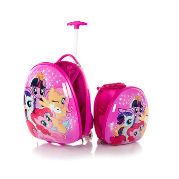 Heys My Little Pony Kids Backpack and Luggage Set