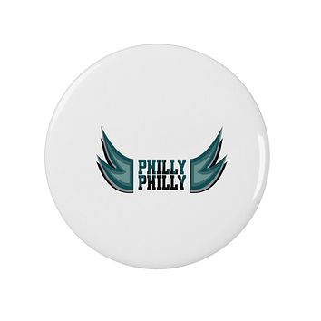 """Philly Philly Funny Beer Drinking 2.25"""" Round Pin Button by TooLoud"""