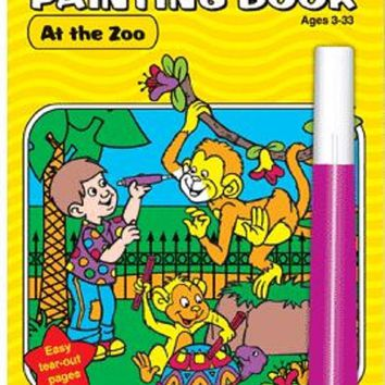 Magic Pen Painting Activity Book-At the Zoo
