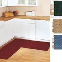 "Corner Runner Rug Carpet Berber Kitchen Hallway Garage L-Shaped 68"" X 68"""