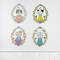 Cameo Cats Decal