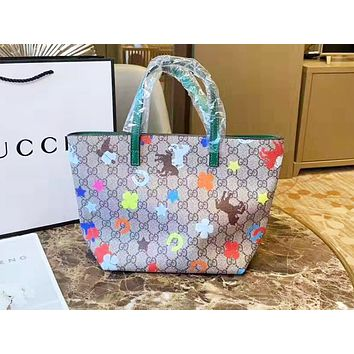 GUCCI fashion hot seller with multi-style single-shoulder bag in cartoon print for ladies #6