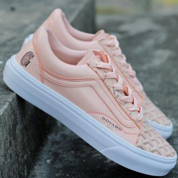 Vans X Goyard Old Skool  Classic print casual shoes