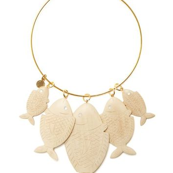 Caspia wood-charm necklace | Rebecca de Ravenel | MATCHESFASHION.COM UK
