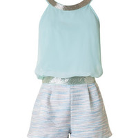 Sophisticated Romper - Mint