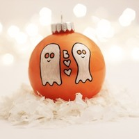 Supermarket: Boo and Boo-et Love Ghosts Ornament from TwentyTwo Turtledoves