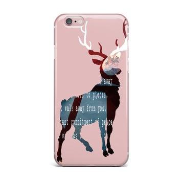 "Suzanne Carter ""Oh Deer"" iPhone Case"