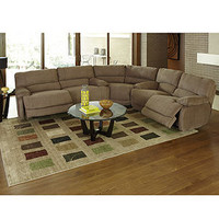Nina Fabric Sectional Living Room Furniture Collection, Power Reclining
