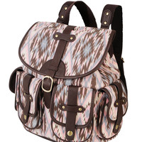 Vibrant Print Backpack