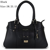 YSL women trendy trendy handbag F-MYJSY-BB black