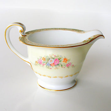 Noritake China Porcelain Creamer Shiela Occupied Japan 1940s