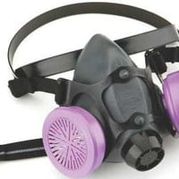 Half Mask Respirator With P100, Large