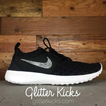 Nike Juvenate - Crystallized Swarovski Swoosh - Black