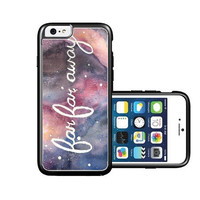 RCGrafix Brand far-far-away-galaxy-hipster-quote iPhone 6 Case - Fits NEW Apple iPhone 6
