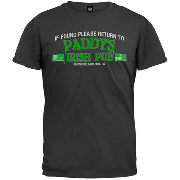 It's Always Sunny In Philadelphia - If Found Please Return T-Shirt