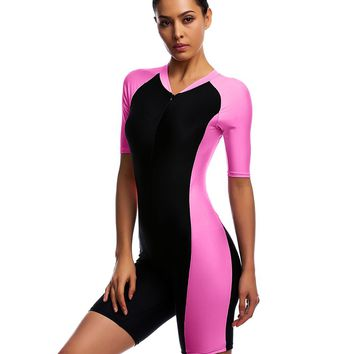 Belloo Swimsuits for Women Rose Pink Surfing Canoeing Diving Size 2XL