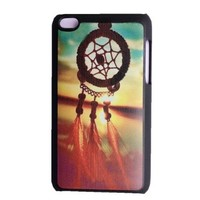 Unique Snap-on Plastic Sunrise Dreamcatcher Feather Mayan Aztec Tribal Case Cover Skin For Apple Ipod Touch 4, 4th Generation
