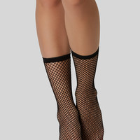 Step To It Fishnet Socks