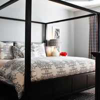 Home Styles Bedford Canopy Bed