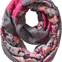 Women's Reversible Infinity Scarves