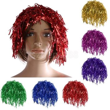 Shining Rainy Hens Cosplay costume Stag Party New year Funny Games Hat Dance Fun Party Cap in  7 colors