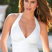 Boston Proper Halter tankini top