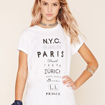 NYC San Francisco Tee