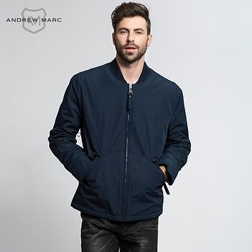 Men Think Warm Keeping Winter Windbreaker Fashion Jacket Coats Loose Casual Male Polyester Overcoat