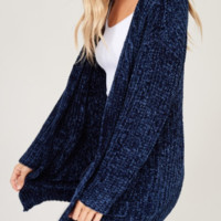 Nautical In Navy Cardigan