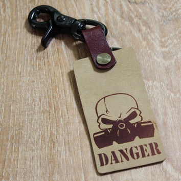 key fob ,Leather keychain ,leather key fob, for hanging keys     (MC-99)