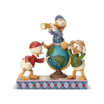 Disney Traditions Huey Dewey & Louie Duck Tales Jim Shore Figurine New with Box