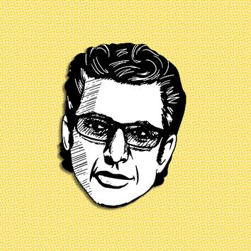 Jeff Goldblum brooch