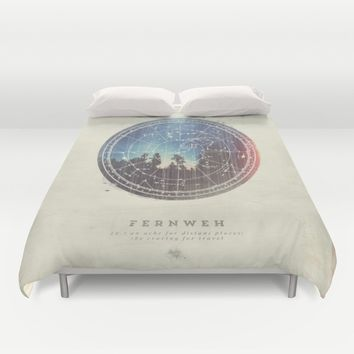 Fernweh Vol 3 Duvet Cover by HappyMelvin | Society6