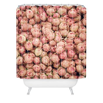Catherine McDonald Flower Market 2 Shower Curtain