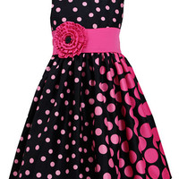 Iris & Ivy Girls 7-16 Polka Dot Party Dress
