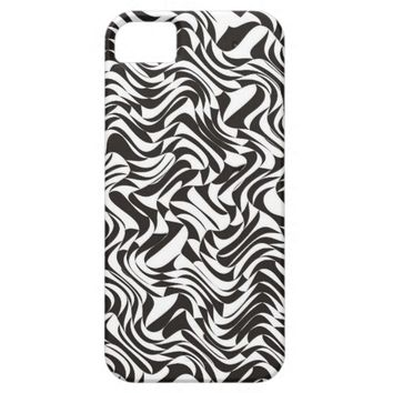 Unique Elegant Black and White - iPhone 5S Case
