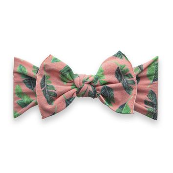 BABY BLING PRINTED BOW HEADBAND