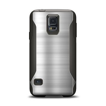 The Brushed Metal Surface Samsung Galaxy S5 Otterbox Commuter Case Skin Set